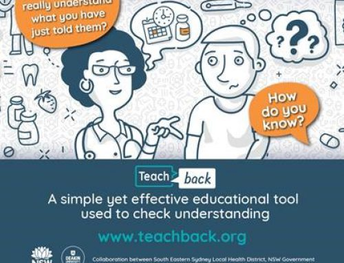 Launching our Teach-back Blog